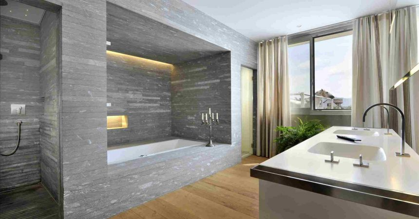 Comment cr er une salle d eau design ijardin for Architecte italien contemporain